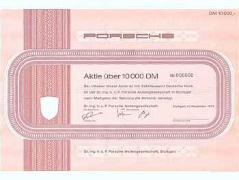 Aktie Porsche by Aktuelle Informationen Speziell Zum Sammelgebiet Dm Aktien