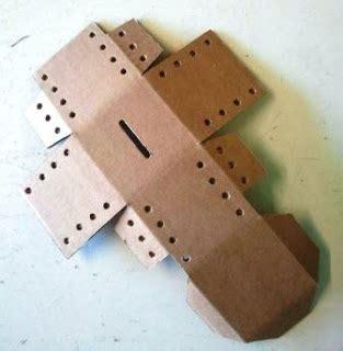 Teh Kotak 1 Kardus kreasi celengan kubus unik dari bekas kardus dan tali