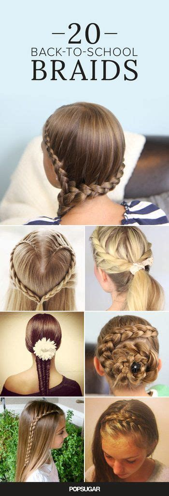 hairstyles for school on monday 20 braids to inspire a school morning do hair style