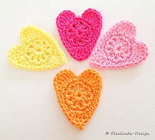 Ravelry Patterns Library Little Hearts | ravelry little hearts pattern by paula matos