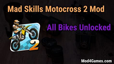 mad skills motocross 2 mod mad skills motocross 2 mod all bikes unlocked