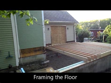 ann arbor bonus room addition framing  floor youtube
