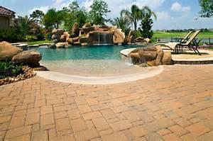pool decks brick paver pool decks enhance pavers brick paver
