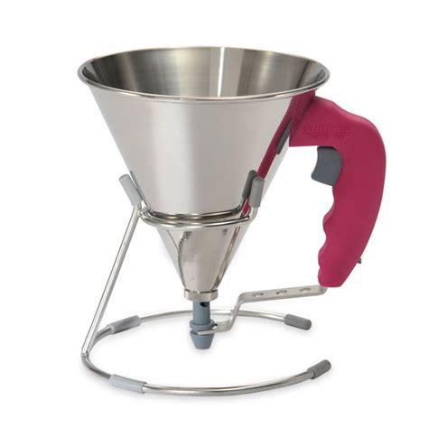 entonnoir de cuisine entonnoir 224 piston fushia de buyer entonnoirs de cuisine