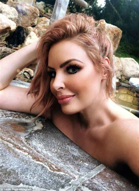 Married At First Sight S Sarah Roza Goes Topless On