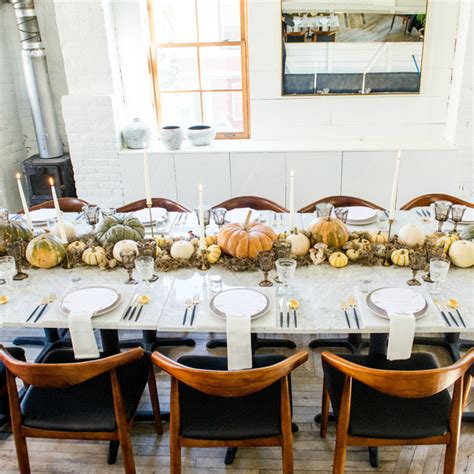 thanksgiving table decorations modern ideas for a modern thanksgiving table martha stewart