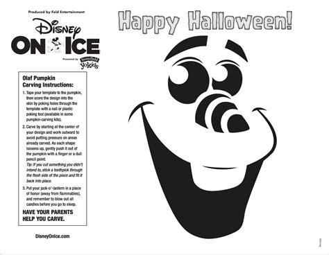 printable olaf pumpkin stencil 7 best images of free printable disney pumpkin carving