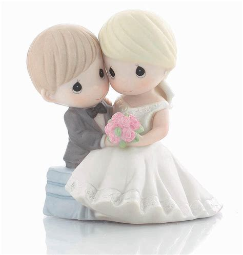 wedding cake topper with precious moments quot to and to hold forevermore quot wedding cake topper figurine