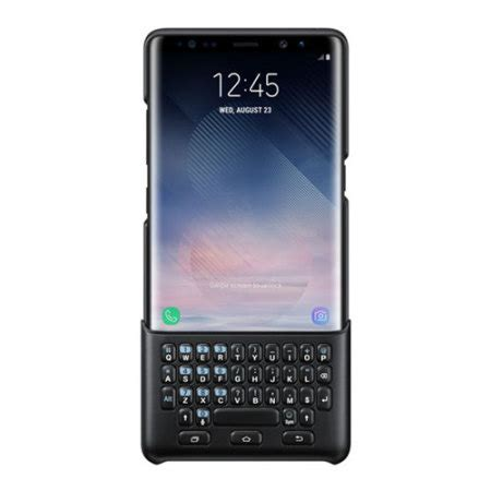 official samsung galaxy note  qwerty keyboard cover black