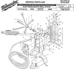 milwaukee 4202 parts list and diagram ser 598b ereplacementparts