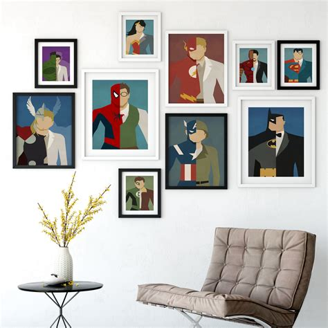 superhero home decor painting room children s fashion home decor superhero