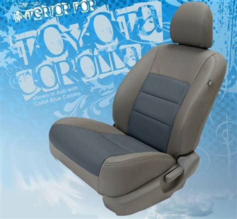 Leather Upholstery Kits by Toyota Corolla Katzkin Leather Seat Upholstery Kit