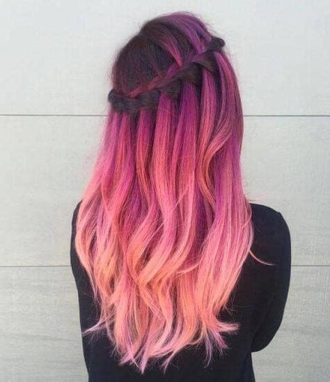 imagenes cool para chicas los peinados de colores para chicas atrevidas paso a paso