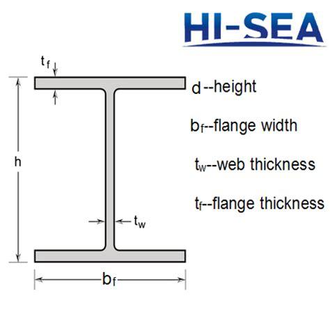wide flange beam section properties american steel wide flange beams supplier china marine