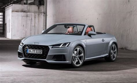 audi introduces  years edition   tt models ny