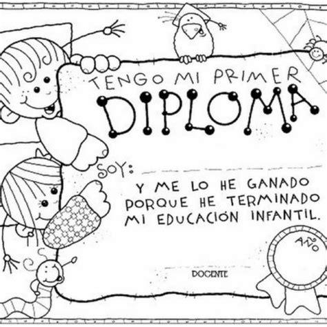diplomas escolares infantiles para ni 241 os para imprimir y diplomas para nios para colorear diplomas23 diplomas