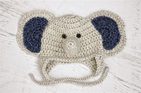 Elephant Hat by Repeat Crafter Me Crochet Baby Elephant Hat And