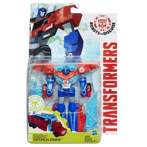 Change Robot Transformer Optimus Prime Stok Terbatas robots in disguise power surge optimus prime and