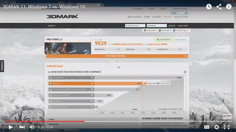 bench mark tests windows 10 gaming benchmarks the results from 3dmark tests
