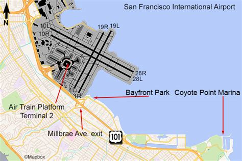 san francisco international map san francisco airport flightline aviation media