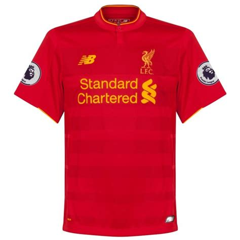 epl jersey sales liverpool home sakho jersey 2016 2017 epl patch pair