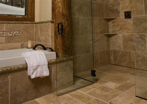 rustic bathroom flooring arizona ada shower designs bathroomtransformations