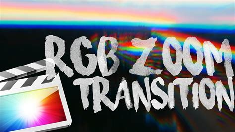 final cut pro zoom transition free rgb zoom transition in final cut pro x youtube