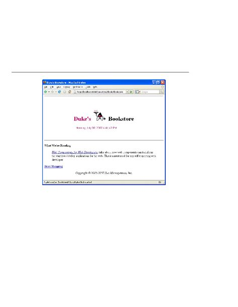 tutorial java applet pdf the java ee 5 tutorial duke s bookstore with applet