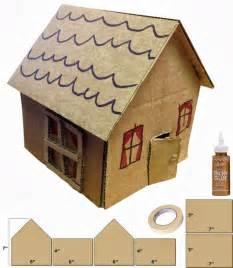 Cardboard House Pics Photos Make A Cardboard House With A Cardboard Box