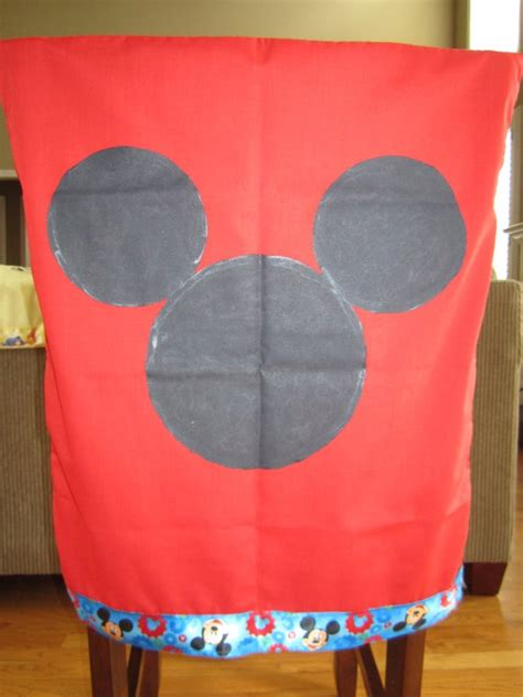 Mickey Mouse Chair Covers by Mickey Mouse Chair Cover Things I Make