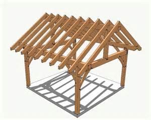 Alternatives To Framing 16x16 timber frame plan timber frame hq