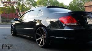 acura rl niche verona m150 wheels black machined with