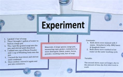 Which Carpet Cleaner Works The Best Science Project - my s laundry detergent science project