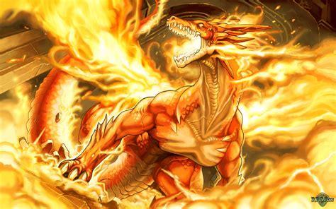 red blue aseobi tapeta smok wśr 243 d płomieni smoki fantasy