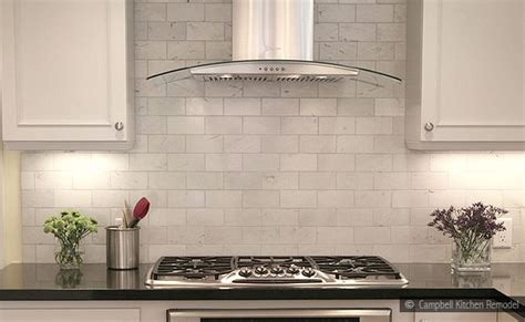 stone subway tile backsplash 10 subway white marble backsplash tile idea