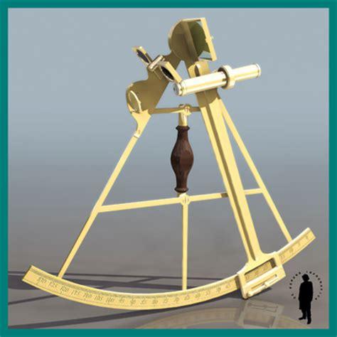 sextant job description navigation sextant 3d model max cgtrader