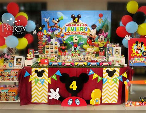 Mickey Mouse High Chair Banner by Mickey Mouse Clubhouse Birthday Quot Javier S 4th Birthday
