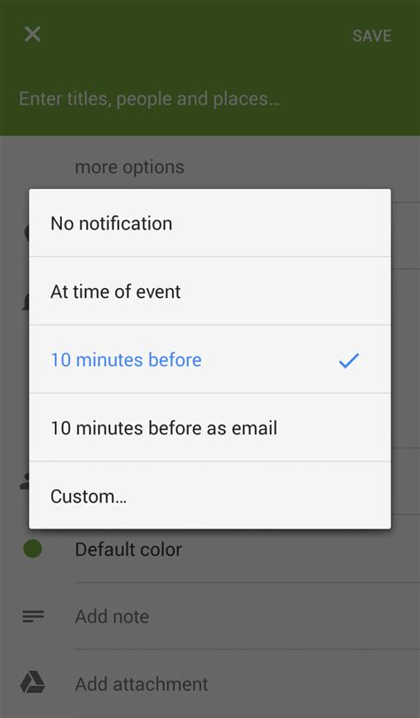 make calendar default samsung galaxy s3 calendar notifications not working