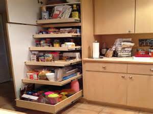 cabinet shelving shelves that slide pantry design