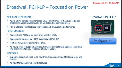 Pch Core - broadwell is coming a look at intel s low power core m and its 14nm process ars