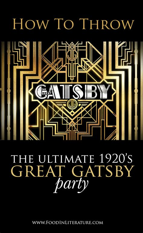 themes in the great gatsby with quotes throw the ultimate 1920 s great gatsby party we ve done