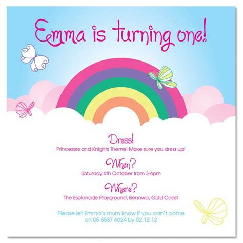 free printable invitation rainbow 8 best images of rainbow pool party invitation printable