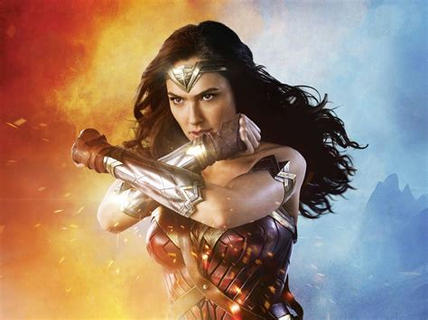 download film gal gadot wonder woman full hd wallpaper and background image