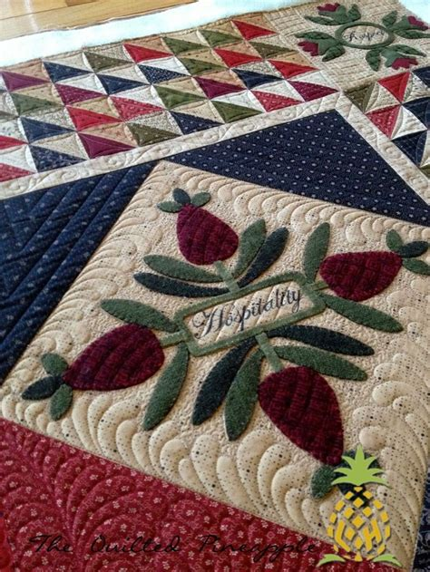Pineapple Patchwork - 1000 images about quilts the quilted pineapple on