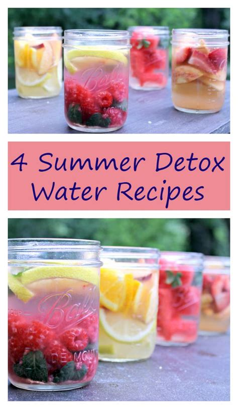 Detox Fruit Water Ideas by When You Drink My Refreshingly Healthy Summer Detox Drinks