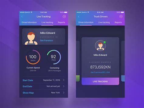 mobile user interface design 592 best mobile ui profiles images on app ui