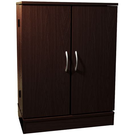 Media Storage Cabinets With Doors Columbus Door 324 Cd 213 Dvd Media Storage Cabinet Oak Watson S On The Web