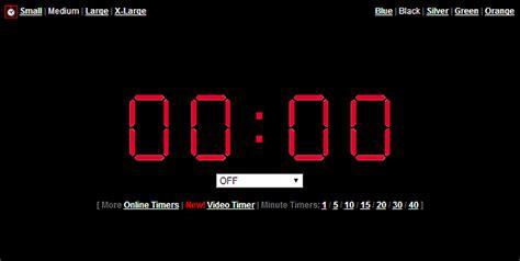 online clock online timer