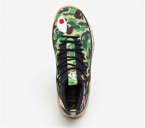 Bape X Play Green are you looking forward to the bape x adidas dame 4 green camo kicksonfire