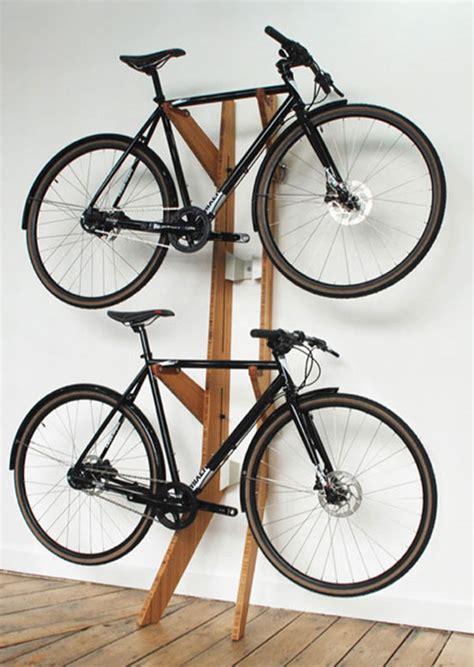 Rack Bike by Flaunt The Wealth With Quarterre S Bamboo Branchline Bike Rack Bikerumor